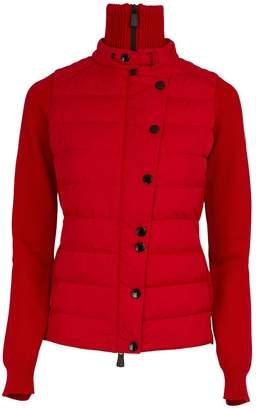 Moncler Wool and duvet cardigan