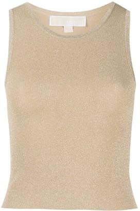 MICHAEL Michael Kors Lurex Knit Vest