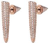 Eddie Borgo Pave Crystal Mini Spike Earrings