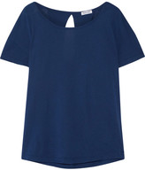Splendid Very Light Supima Cotton And Micro Modal-blend Jersey T-shirt - Storm blue