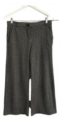 Max Mara Weekend Multicolour Wool Trousers