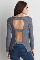 American Eagle Outfitters AE Ladder Back Sweater