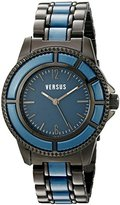 Versus By Versace Women's 3C61700000 Tokyo Analog Display Quartz Black Watch