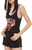 Topshop Women's By Unk Chicago Bulls Bodysuit
