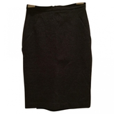 Max Mara Anthracite Wool Skirt