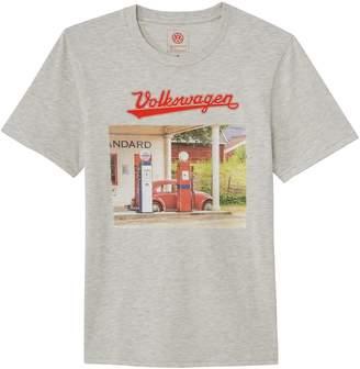 La Redoute Collections Volkswagen Vintage Car Print Cotton T-Shirt