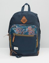 Billabong York Packpack With Floral Print