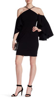 Alexia Admor Flutter Sleeve Dress