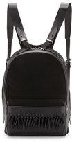 3.1 Phillip Lim Bianca Mini Fringe Backpack, Black