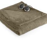 Sunbeam CLOSEOUT! Slumber Rest Velvet Plush Heated Twin Blanket