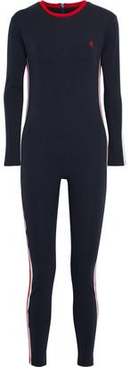 Perfect Moment Super Stripes Stretch-cotton Jersey Jumpsuit
