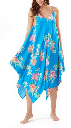 Tommy Bahama Sun Lilies Scarf Dress Cover-Up