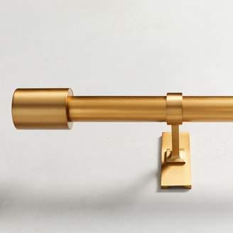 west elm Oversized Adjustable Metal Rod - Antique Brass