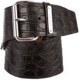 Michael Kors Embossed Waist Belt