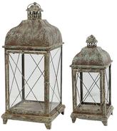 A&B Home Armand Carriage Candle Lanterns (Set of 2)