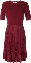 Valentino knitted A-line dress - women - Virgin Wool - M