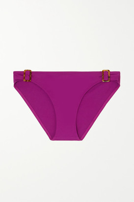 Eres Hide Embellished Bikini Briefs - Magenta