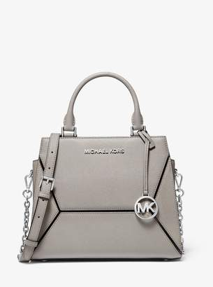 MICHAEL Michael Kors Prism Medium Saffiano Leather Satchel