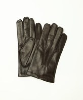 Portolano Men's Leather Gloves With Cashmere Lining.