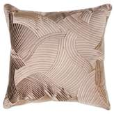 Catherine Malandrino Locks Square Throw Pillow