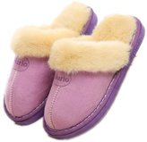 YINHAN Unisex Winter Warm House Indoor Faux Fur Suede Slippers/Footwear