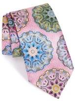 Ermenegildo Zegna 'Quindici' Medallion Silk Tie