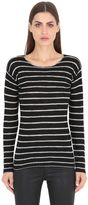 R 13 Striped Cashmere Sweater