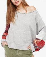 Free People Suns Out Cotton Off-The-Shoulder Sweater
