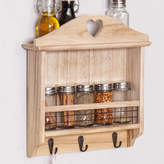 Dibor Wooden Wall Mounted Kitchen Spice Rack