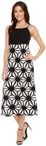 Vince Camuto Tribal Starlight Maxi Dress w/ Side Slits Women's Dress