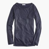 J.Crew Metallic perfect-fit T-shirt