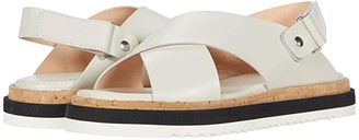 AGL Criss Cross Sport Sandal (Off-White) Women's Shoes