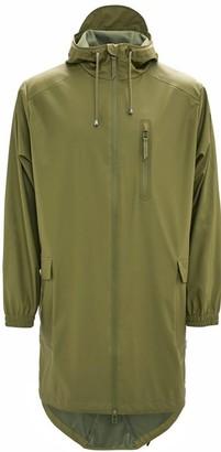 Rains Parka Coat Sage - polyester | XXS/XS | sage green - Sage green