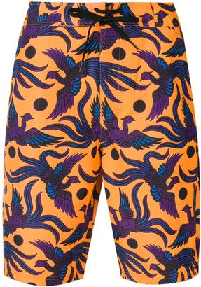 Kenzo Bird Print Swimming Shorts