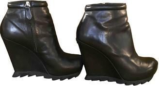 Camilla Skovgaard Black Leather Ankle boots