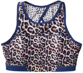 Wear It To Heart High Neck Sports Bra