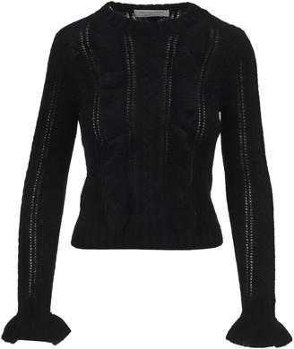 Philosophy di Lorenzo Serafini Philosophy Ruffled Detail Knit Sweater