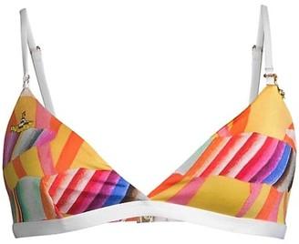Stella McCartney Yellow Submarine Bikini Top