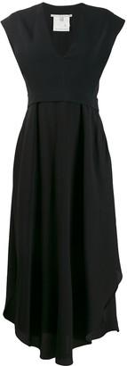 Stella McCartney Handkerchief Hem Midi Dress