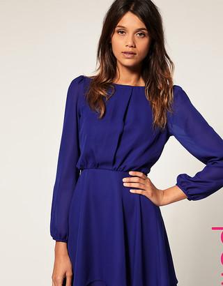 ASOS Workwear Double Skirt Dress