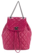 Chanel 2017 Small Quilted Urban Spirit Backpack
