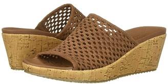 Skechers Beverlee - Golden Sky (Black) Women's Sandals