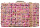 City Design Group Tweed Box Clutch