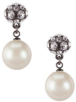 Kate Spade Party Pearls Double-Drop Earrings