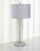 John-Richard Collection Cascading Crystal Waterfall Table Lamp