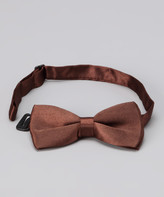 American Exchange Boys' Bow Ties - American Exchange Brown Bow Tie