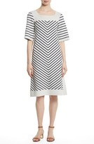 Tory Burch Women's Anya Stripe Knit Shift Dress