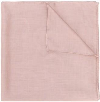 Salvatore Ferragamo Gancini jacquard shawl
