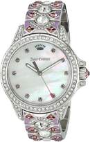 Juicy Couture Women's 1901435 Malibu Analog Display Quartz Multi-Color Watch