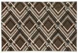 American Rug Craftsmen Mohawk Home Augusta Browning Avenue Geometric Shag Rug